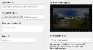 Change the tour cover image in Spinattic to get the best social share engagement.