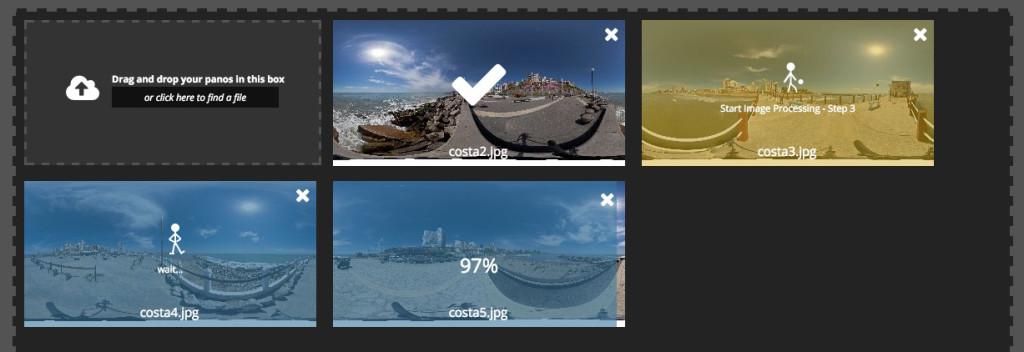 panorama uploader